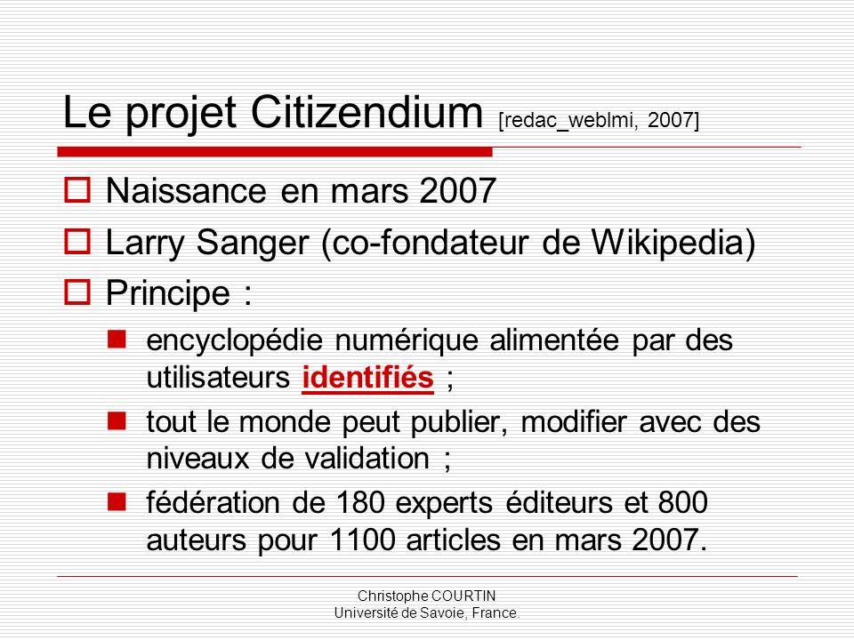 Le projet Citizendium [redac_weblmi, 2007]